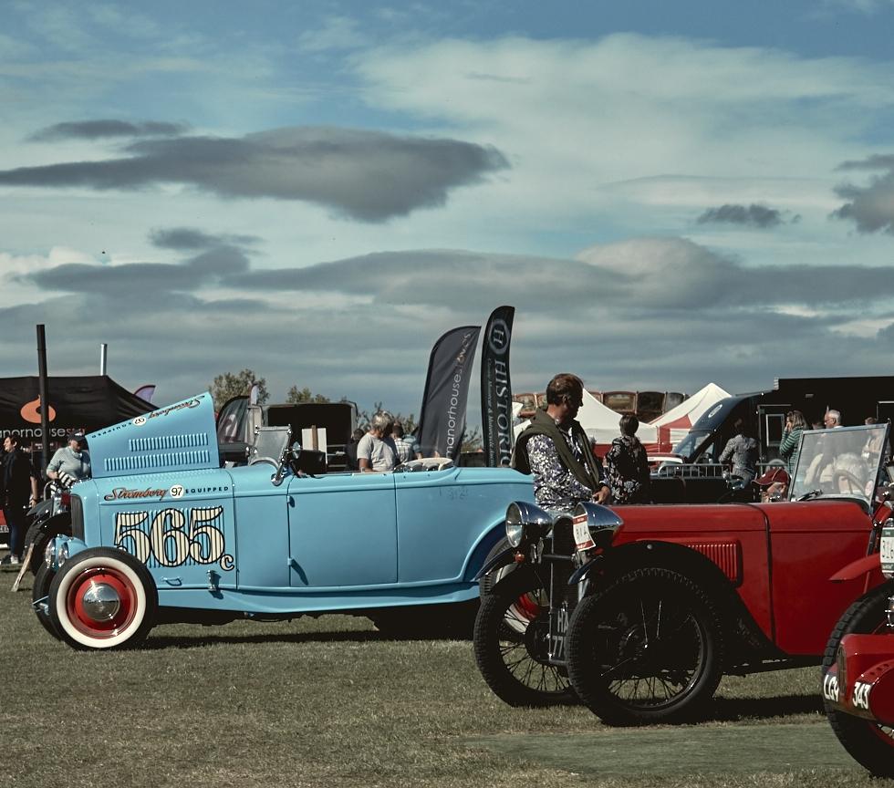 Kop Hill Climb Vintage Ford 565